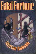 Fatal Fortune by Marian Babson-1st U.S. Edition/DJ-1991-Review Copy