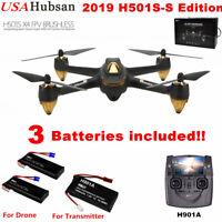 Hubsan X4 H501S S Drone RC Quadcopter 5.8G FPV 1080P Brushless Follow Me GPS RTF