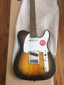 Fender Squier Telecaster Sunburst NEW