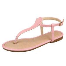 Buckle Medium (B, M) Solid 9 Sandals & Flip Flops for Women