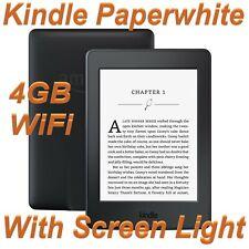 Amazon Kindle Paperwhite 3 (7th Generation) 4GB, Wi-Fi, 6in Black E-Reader