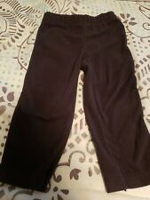 Carter's brand boys size 24 month fleece pants (black)