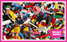 LEGO 1kg Bundle - 700 Mixed Bricks, Parts and Pieces + 2 Mini Figures
