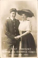 Pant near Oswestry. Heiress Dolly & Porter Husband Tom. Social Inequality.