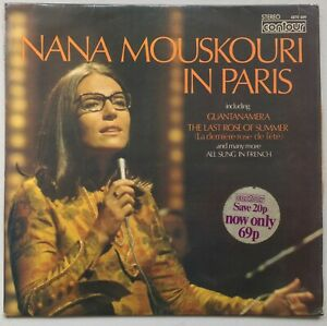 NANA MOUSKOURI Nana Mouskouri In Paris 1966 CONTOUR EX/VG++