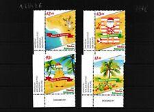 Tokelau 478-481 (completa edizione) MNH Eckrandstücke (103376