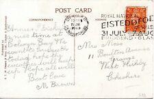 1948 Sg 488 2d on post card with Royal National Eisteddfod Colwyn Bay Cancel