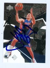 Jon Barry autographed Basketball Card (Detroit Pistons) 2003 Upper Deck #60