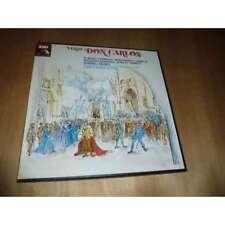 CARLO MARIA GIULINI / PLACIDO DOMINGO don carlos VERDI HMV French 4 Lp BOX 1971