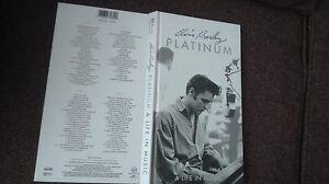 "ELVIS PRESLEY "" PLATINUM   "" SCARCE 4 CD BOX SET"