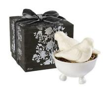 Gianna Rose Perched Pair Bird Soap with Bowl