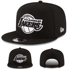 New Era NBA Los Angeles Lakers 950 Snapback Hat Black White Cap Lebron James e8b7d4f8dcd5