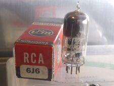 Strong! RCA 6J6 Vacuum Tube ((Balanced)) NOS