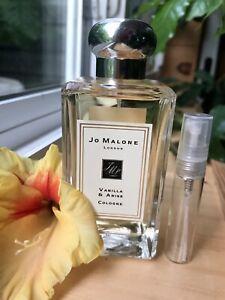 JO MALONE LONDON VANILLA & ANISE -5ML. Sample Only
