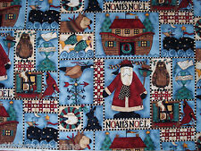 Debbie Mumm Noah's Noel Christmas Ark Fabric - By the Yard - SSI Fabric