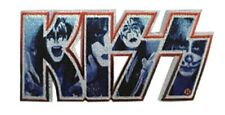 Kiss Logo Embroidered Patch K026P AC/DC Thin Lizzy Rose Tattoo Ace Gene Simmons