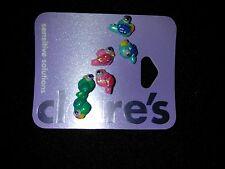 3 Pair Claire's Sensitive Solutions Parrot earrings