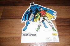 BATMAN & ROBIN / GOLDEN AGE -- Aufsteller # 30 von DC Dino Comics 2000 // NEU