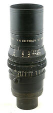 Vintage BLACK Kodak Anastigmat f/2.7 63mm  Cine Lens for 16mm