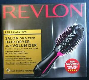 Revlon One-Step Hair Dryer & Volumizer Hot Air Brush Pink RVDR5222