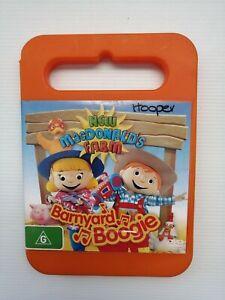 NEW MacDONALD'S FARM Barnyard Boogie RARE DVD Region 4 PAL