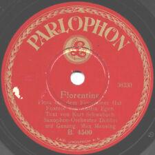 "78er Dt. Tanzmusik Hot Dance 20er Jahre Saxophon-Orchester Dobbri ""Florentine"""