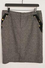 Women Krizia Skirt Cotton Classic L D38 IT44 US10 FR42 GB12 XMT926