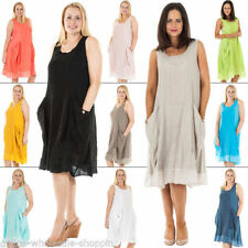 All Seasons Casual Dresses for Women with Pockets