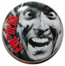 """1"""" (25mm) 'THE EVIL DEAD' 1981 Movie Button Badge Pin"""