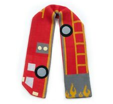 Promo Kidorable Kids Knitted Fireman Scarf Childrens Child Boys Knitwear Scarves
