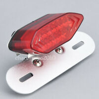 Red 16 LED Motorcycle ATV Tail Turn signal Brake License Plate Integrated Light