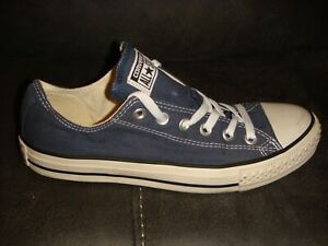 CONVERSE ALL STAR OX CANVAS PUMPS TRAINERS - BLUE - SIZE 7 UK ADULT - K36
