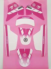 Kit Deco Fille Moto moto cross YAMAHA PW 50 PW50 PINK ROSE Qualité Standard