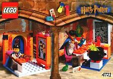 LEGO HARRY POTTER HOGWARTS CLASSROOMS 4721 RARE VINTAGE 100% COMPLETE GUARANTEE