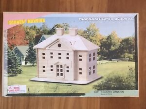 Brand New Country Mansion Woodcraft Construction Kit 3d