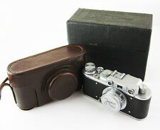 ZORKI 1 Vintage Russian Leica copy RF Camera Industar 22 M39 Lens #153530 BOX