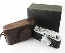 ZORKI 1 Vintage Russian Leica copy RF Camera Industar 22 M39 Lens #153530 BOX