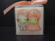 Sanrio Hello Kitty & Dear Daniel Wedding Candle Cube size perfect gift japan