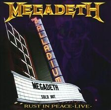 MEGADETH Rust In Peace Live with 6 bonus songs shrink wrapped sealed new CD