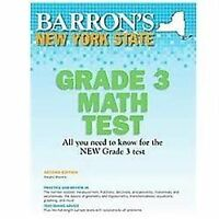 New York State Grade 3 Math Test, 2nd Edition: By Margery Masters M.S. Ed.