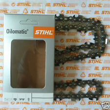 """18"""" 45cm Genuine Stihl RS3 Chain 3/8"""" 1.6mm .063"""" 3626 000 0066 66 Tracked Post"""