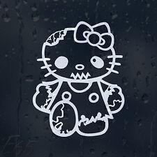 Hello Kitty Zombie brote equipo de respuesta coche decal pegatina de vinilo