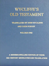 Wycliffe Bible : Wycliffe's Old Testament