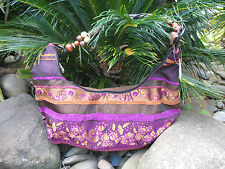 Womens Embroidered Tribal Hippie Vintage Bo-Ho Bohemian Retro Ladies Handbag