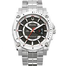 Bulova 96B133 Precisionist Champlain Black Dial Titanium Case & Bracelet Watch