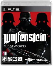 [NEW] Wolfenstein : The New Order for PlayStation3 PS3, 2014 Wolf Gun shooting