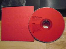 RARE PROMO Coldplay CD single Speed of Sound X&Y Chris Martin Apparatjik 2005 !