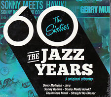 COFFRET 3 CD 22T THE JAZZ YEARS THE SIXTIES THELONIOUS MONK/ROLLINS NEUF SCELLE