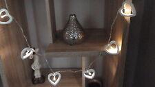 White Heart LED  Lights