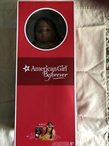 American Girl BeForever Kaya Doll and Book